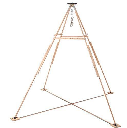 pedalo Pyramido® I Hängemattengestell I Aufhängeset I Garten I Klappbar I Hängestuhlgestell