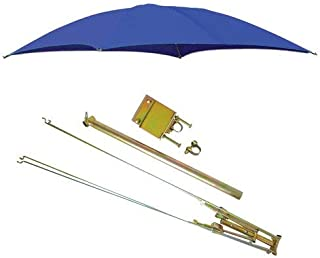 All States Ag Parts ROPS Tractor Umbrella with Frame & Mounting Bracket 54