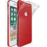 ebestStar - Funda Compatible con iPhone 7, iPhone 8 Carcasa Silicona, Protección Crystal Clear TPU Gel, Ultra Slim Case, Transparente [Aparato: 138.3/138.4 x 67.1/67.3 x 7.1/7.3mm, 4.7'']