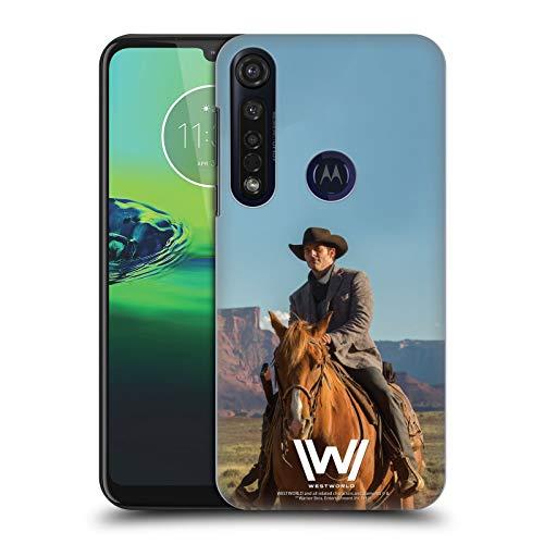 Head Case Designs Offizielle Westworld Teddy Flood Darsteller Harte Rueckseiten Handyhülle Hülle Huelle kompatibel mit Motorola Moto G8 Plus