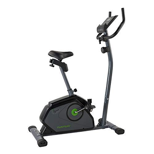 Tunturi Cardio Fit B40 Bicicleta estatica / bici estatica / bicicleta fija / con baja entrada, computadora de Entrenamiento y medidor de pulso