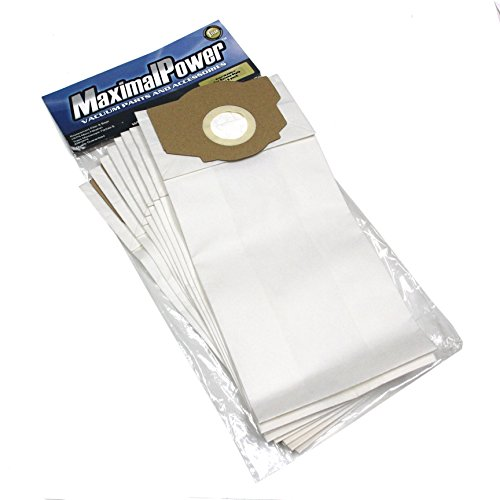 MaximalPower VB Eur310 9 Replacement Rr Style Vacuum Bags for Eureka Omega, Boss Smart Vacuums, Part No. 61115, 61115-12, 61115A, 61115B, 9-Pack