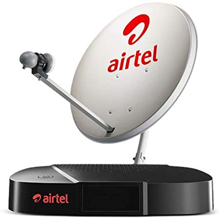 Airtel Digital TV HD Set Top Box with 1 Month HD Pack - Unlimited Entertainment + Free Unlimited Media Playback Feature + Free Installation