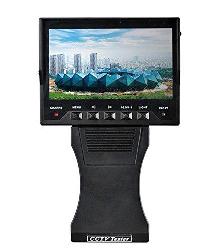 Überwachungskamera-Testmonitor Dreamy 10,9cm (4,3 Zoll) TFT-Farb-LCD, Video, Audio