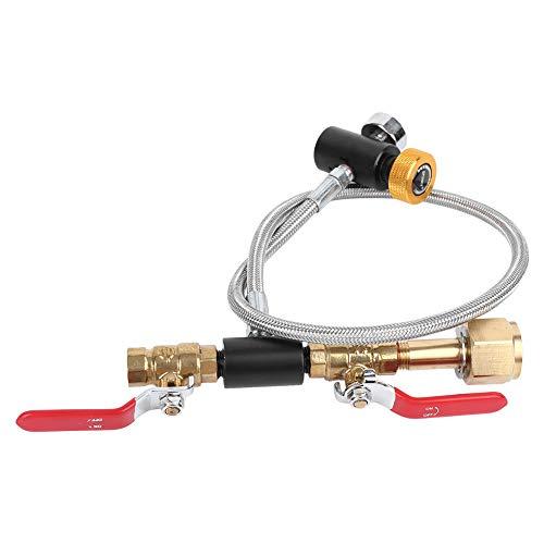 【𝐎𝐟𝐞𝐫𝐭𝐞 𝐝𝐢 𝐁𝐥𝐚𝐜𝐤 𝐅𝐫𝐢𝐝𝐚𝒚】Adattatore ricarica bombola CO2, adattatore riempimento CO2, ottone per riempimento serbatoio Sodastream Soda Stream