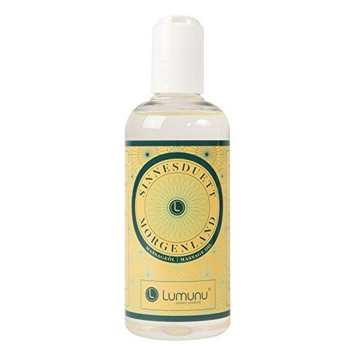 Olio da massaggio erotico (250ml) con profumo dolce e afrodisiaco, olio d\'amore per massaggi corpo, massaggi di coppia e massaggi intimi