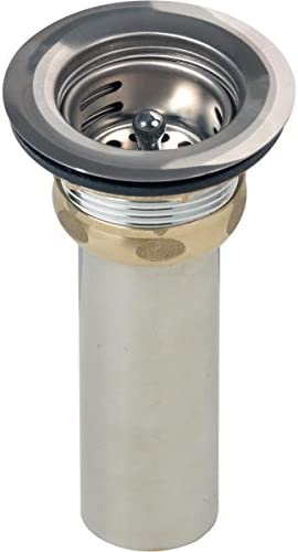 Elkay LK58 2 Drain Fitting with Type 304 Stainless Steel Body Stainless Steel Strainer Basket product image