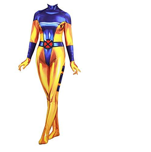 Cosplay X-23 Rogue X-Men Cosplay Kostüm Jean Grey Gr. 75, blau