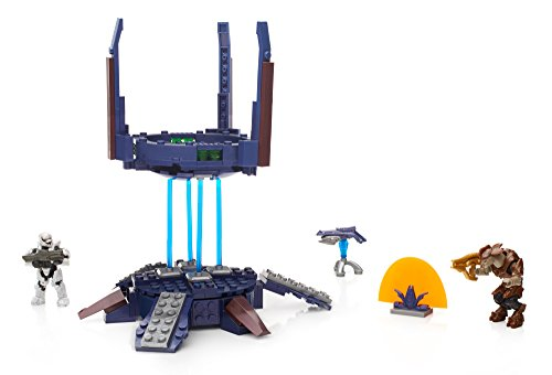 Mega Bloks - Torre vigilancia Covenant, Juego de construcción (Mattel DKT68)