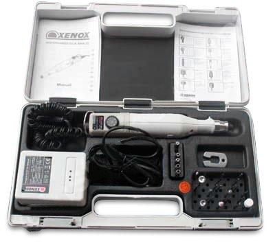 Fußpflegegerät mit Diamantschleifer und Fußpflege-Koffer