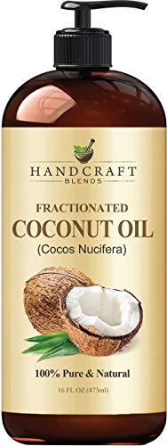 Fractionated Coconut Oil - 100% Pure & Natural Premium Grade...