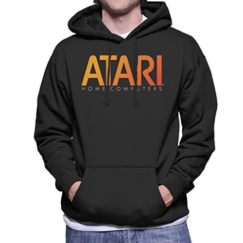 Atari Home Computers Orange Logo Hoodie