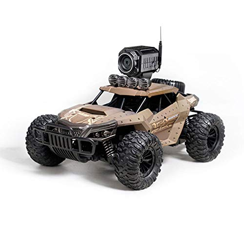 AEDWQ RC Remote Control Toy Car 1:16 Ratio WiFi Camera 4WD Electric All Terrain Off-Road Vehicle 2.4GHz Radio Controller High Speed Racing Bigfoot Monster Truck, Climbing Car, Best Gift