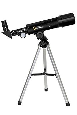 Lunette astronomique Monture azimutale Grossissement: 18x - 60x Compact et facilement transportable Tube optique avec monture Oculaires: 6 mm, 20 mm Renvoi d'angle