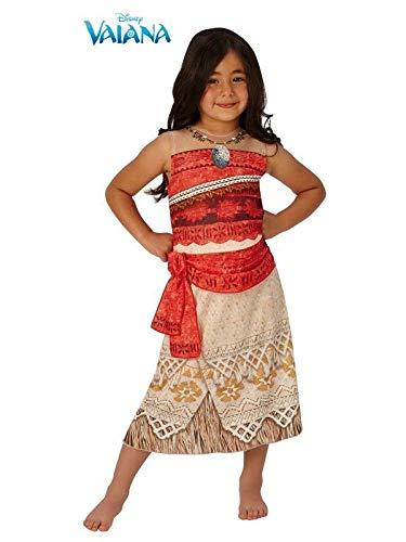 DISBACANAL Disfraz Vaiana Disney niña - -, 3-4 años: Amazon.es ...