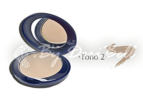 By DoriBell ® Maquillaje Matte Compact Make-Up FPS 50+ Tono 2 10gr.