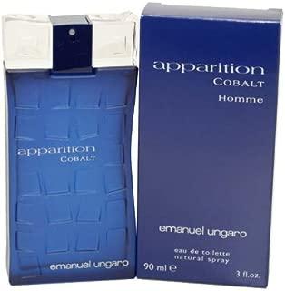 Emanuel Ungaro Apparition Cobalt Eau De Toilette for men 3 oz