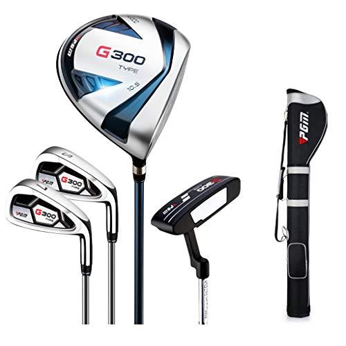 WYSTAO Golfset, Herren Mit 4 Schlägern Inkl. Golfbag Anfänger-Halbsatz Herren Golf Set (Size : Carbon Shaft)