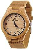 MISINIO Relojes de Madera Hechos a Mano con Movimiento de Cuarzo Reloj de Madera para Mujeres Relojes para Hombres y Mujeres Incomparable