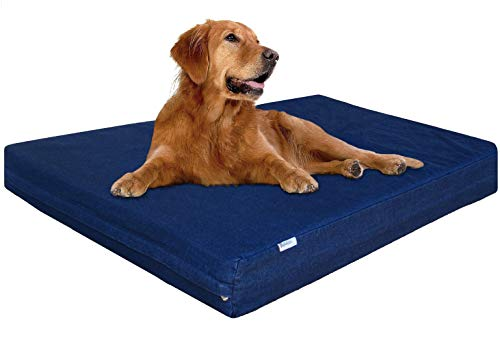 Dogbed4less XL Orthopedic Waterproof Memory Foam...