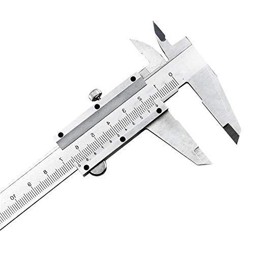 0-150 mm Calibro a Corsoio in Acciaio al Carbonio, Misura di Alta Precisione per Profondità e Diametro, Progetta per l'Educazione e l'Sperimentare Degli Studenti