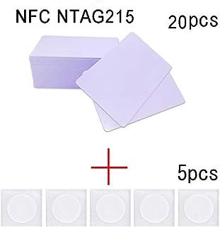 20pcs NFC NTAG215 Tarjeta+5pcs NTAG215 Tags se puede usar Tagmo DIY Amiibo y también es compatible con todos los teléfonos inteligentes y dispositivos con NFC