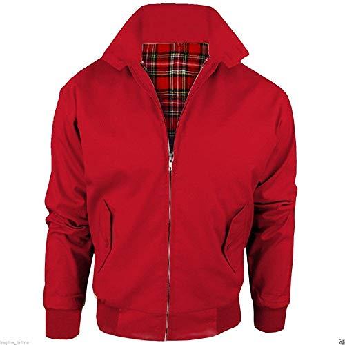 Warrior Blouson Harrington Clothing British (PILLARBOX Red)