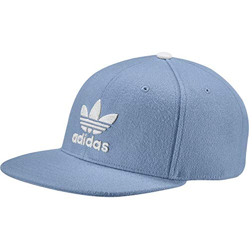 adidas CD6239 Casquette Homme, Ashblu Blanc, FR Unique (Taille Fabricant : OSFW)