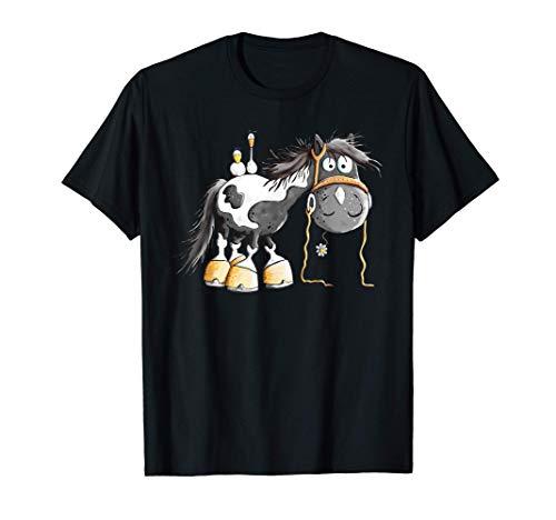 Süßer Schecke I Pferd Pony I Pferdemotiv Reiter Fun T-Shirt