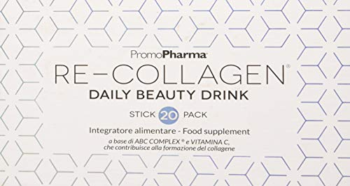 PromoPharma Re-Collagen Daily Beuaty Drink Integratore Alimentare - 240 gr