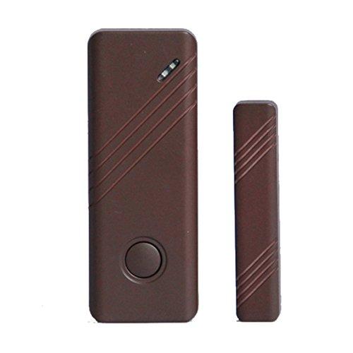fp-tech FP-Mc01 magneetsensor bruin deuren en ramen Wireless voor alarmsysteem huis wifi bruin
