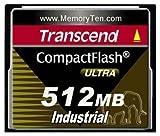 Transcend 512MB CF Industrial 100X Compact Flash Card (UDMA4 Mode) - Transcend 512MB CF Industrial 100X Compact Flash Card (UDMA4 Mode)
