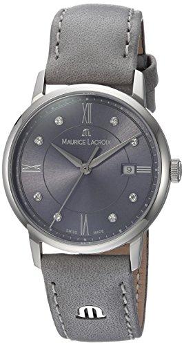 Maurice Lacroix Damen analog Swiss Quartz Uhr EL1094-SS001-250-1