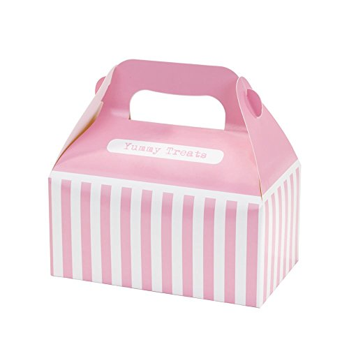 Cupcake Muffin Take away Bag Teatime 4-tlg. Verpackung Patisserie Tortenbox Geschenkbox Transportbox