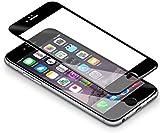 iPhone 6s 6 Schutzfolie, Coolreall® Full Screen Curved Panzerglas für iPhone 6s 6 4,7', [9H Härtegrad, 3D-Touch kompatibel] (Schwarz)