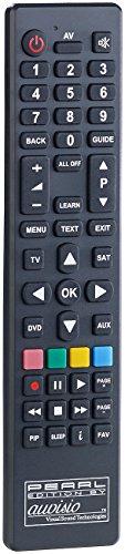 auvisio Lernbare Fernbedienung: PC-programmierbare 4in1-Universal-Fernbedienung PRC-560.USB (Fernbedienung LG)