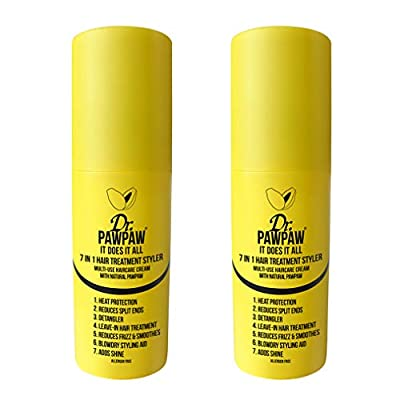 Dr. PAWPAW - It Does It All 7 in 1 Hair Treatment Styler | Heat Protector | Leave-in Treatment | Detangler, Reduces Frizz & Blowdry Styling (150 ml)