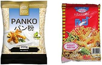 1x Panko + 1x Tempura ASIA Paniermehl pankomehl pankokrumen