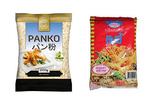 1x Panko + 1x Tempura ASIA Paniermehl pankomehl pankokrumen Tempuramehl SparSet Panade