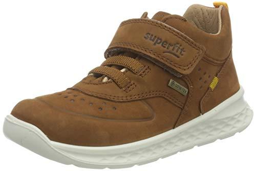Superfit Breeze Gore-Tex Sneaker, BRAUN/GELB, 27 EU