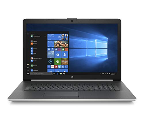 HP 17-ca1000nf PC Portable 17,3' HD Argent (Lecteur DVD, AMD Ryzen 3, RAM 4 Go, 1 To, AZERTY, Windows 10 S)