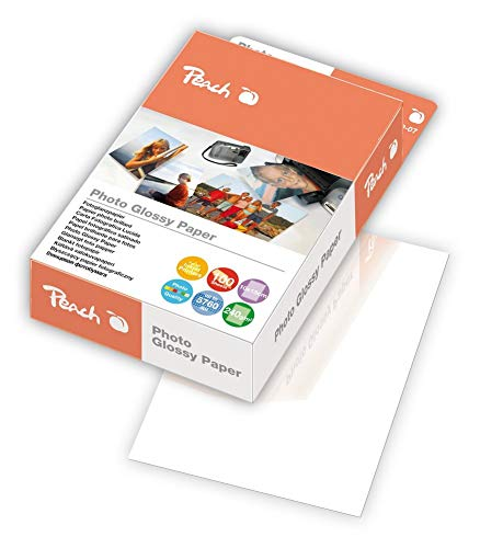 Peach PIP200-07 Photo Glossy Papier 10 x 15 cm, 240 g m², 100 Blatt