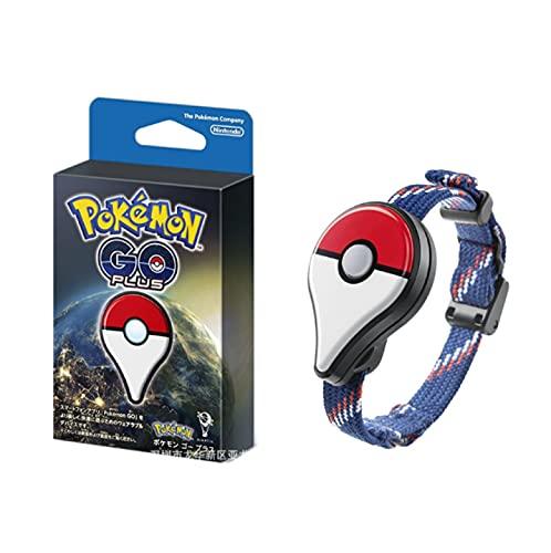 QWRT Pokemon Go Plus, Pulsera con Dispositivo De Enlace, Captura De Pokemon Pikachu, Figura De Acción, Pulsera con Sensor De Conexión Bluetooth, Juguetes para Niños, Regalos