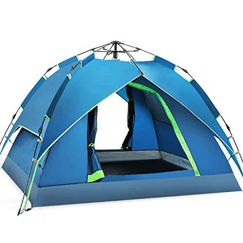 JX-ZHANGPENG 1-2 Persoon Dubbele Laag Waterdichte Dome Tent Winddichte Camping Wandelen Tent Paar Backpacking Bivy Tent voor Outdoor Wandelen