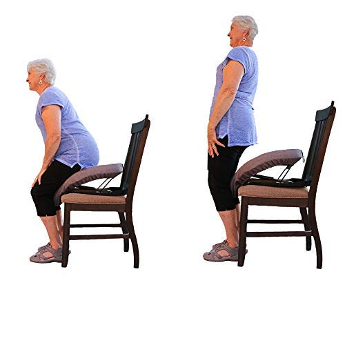 Deluxe Up N' Go Cushion - Chair Lift Assist - Portable Lifting Seat - Up to 300 Pounds