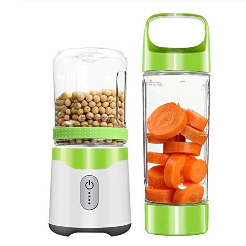 Why Should You Buy SISHUINIANHUA Personal Portable Blender USB Juicer Rechargeable Travel Juice 350M...