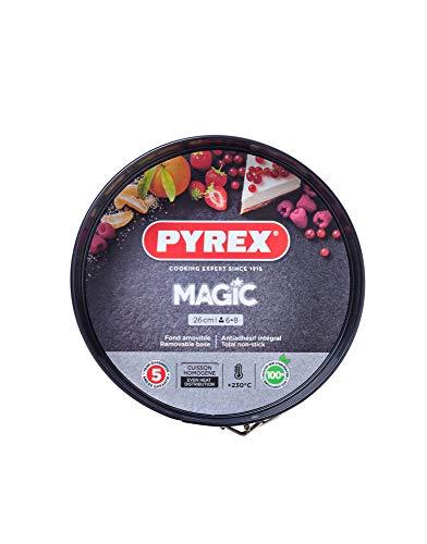Pyrex MG26BS6 Magic Spring Form Cake Tin, Black