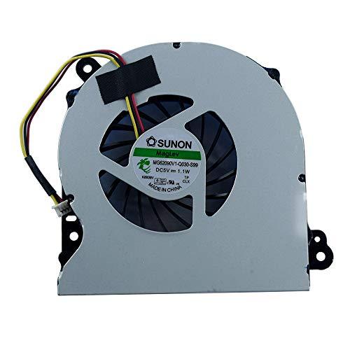 Ersatz-CPU-Kühler für Asus R700V R700VJ K75A K75D K75DE K75V K75VD K75VJ K75VM A75V K95V Series Laptop MF75120V1-C140-G99 KSB06105HA BK08 DC28000AQD0 (Hinweis: Das Teil kann abweichen)