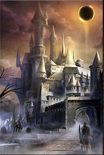 H/S Póster De Juego Decoración HD Lienzo Dark Souls 3 Imagen Pintura Arte Póster 50X70Cm L8663