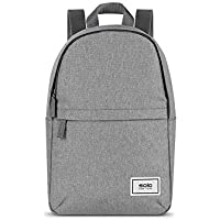 Solo New York Revive Mini 10L Backpack Made from Recycled PET Bottles (Gray)